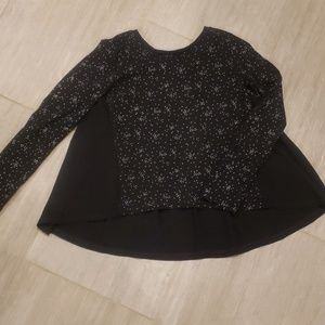 Gap swing blouse